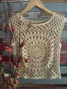 Fabulous Crochet a Little Black Crochet Dress Ideas. Fabulously Georgeous Crochet a Little Black Crochet Dress Ideas. Débardeurs Au Crochet, Gilet Crochet, Crochet Fabric, Crochet Woman, Crochet Blouse, Love Crochet, Beautiful Crochet, Crochet Shawl, Crochet Stitches