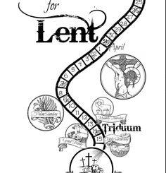 Free Lent Calendar for Catholic families!! (Catholic kids, Catholic children, Catholic Lent activities)