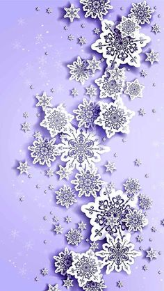 Beautiful Wallpapers For Iphone, Most Beautiful Wallpaper, Cute Wallpapers, Wallpaper Backgrounds, Winter Wallpapers, Purple Christmas, Noel Christmas, Christmas Crafts, Illustration Noel