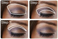 never know how to do eye makeup right... perfect guide