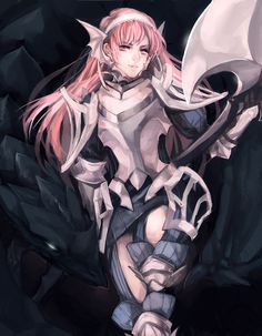 Cherche, of Fire Emblem: Awakening. Source: http://kyaptan.tumblr.com/post/70377645433/ive-been-poking-at-this-every-month-or-so-hahah