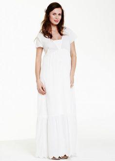 meilleur blog robe robe longue blanche grossesse. Black Bedroom Furniture Sets. Home Design Ideas