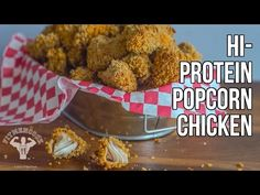 "Healthier ""KFC-Style"" Hi-Protein Popcorn Chicken / Popcorn (Palomitas) de Pollo con Proteína - YouTube"