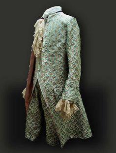 Ba-rococó: Moda masculina del Siglo XVIII