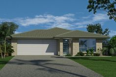 GJ Gardner Home Designs: Nova 157 Facade 1. Visit www.localbuilders.com.au/builders_queensland.htm to find your ideal home design in Queensland House Plans