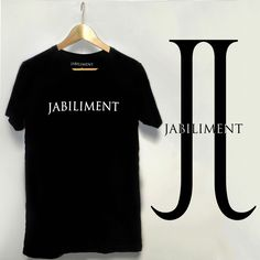 Signature back design double J t-shirt