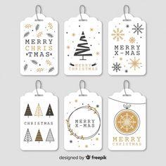 'Merry Christmas' - Trendy Christmas card www. Santa Letter Printable, Christmas Tags Printable, Christmas Gift Wrapping, Christmas Gift Tags, Retro Christmas, Christmas Design, Christmas Diy, Christmas Wreaths, Christmas Decorations