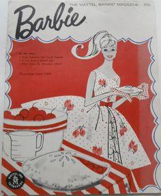 Barbie Mattel Magazine