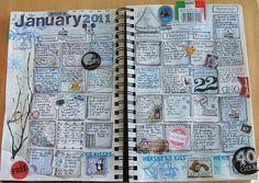 calendar journaling.