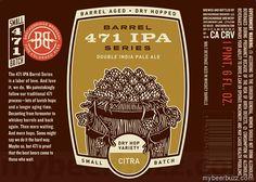 mybeerbuzz.com - Bringing Good Beers & Good People Together...: Breckenridge Brewery - 471 IPA Barrel Series Calyp...