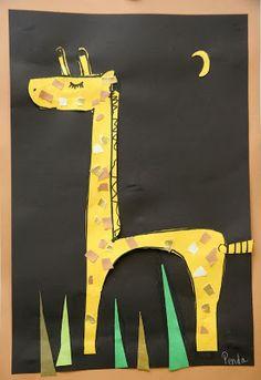 Giraffe art-The Giraffe That Walked to Paris
