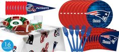 NFL New England Patriots Party Supplies-Party City