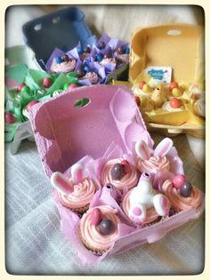 Easter minicupcakes