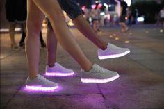 8 Colors men led shoes fashion women led luminous shoes Zapatos Hombre,led light shoes for adult