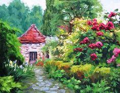 French+Garden+Design | French Country Garden Design Ideas Picture Gallery