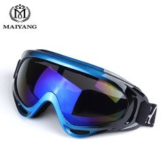 Low Price $6.96, Buy Outdoor Ski Goggles Double UV400 Anti-fog Big Ski Mask Glasses Skiing Men Women Snow Snowboard Goggles HX-X400
