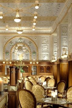 Café Imperial features original wall tiling and a mosaic ceiling from 1914. Art Deco Imperial Hotel (Prague, Czech Republic) - Jetsetter
