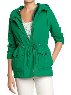 old navy hooded anorak