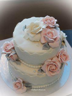 Maalaisromanttista juhlaa Cake, Desserts, Food, Pie Wedding Cake, Tailgate Desserts, Deserts, Kuchen, Essen, Postres