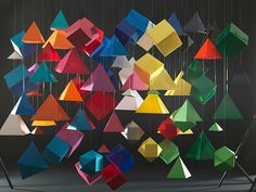 Lenancker Romain's Paper Installations    unique style of French art director....