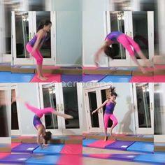Gymnastics today #acroanna #bratayley