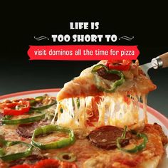 Life is too short to visit dominos all the time for pizza ,Download CityShor's app now : https://bnc.lt/CityShorApp
