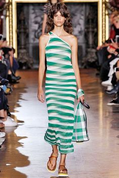 12 Bold Accessory Trends You'll Be Wearing Come Spring #refinery29  http://www.refinery29.com/accessories-trends-fashion-week-spring-2016#slide-28  Outfit-Matching BagsIt seems like things are about to get very matchy-matchy come spring and summer, so start looking now for bags that mimic your outfits exactly. Whatever fabric your look is made of — be it tweed, plaid, or a monochromatic silk — your bag should follow suit. Basically, the matchier, the better.Stella McCartney...