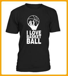 I LOVE BASKETBALL BLANC - Basketball shirts (*Partner-Link)