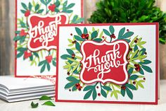 Did you celebrate Christmas? If you did and you're stopping by the blog today, the chances are that you received a great Silhouette gift from someone special (or maybe yourself) this morning. 🙂 What better way to show your gratitude than to put together some handmade holiday thank you notes? Don't let your gift sit in the box – you're going to love what you can make with your new DIY machine. Set it up and let's get going! This sweet card can be made with any of the Silhouette cutting…