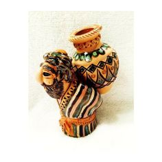 Ceramic Figure - Man with Jug - Fair Trade