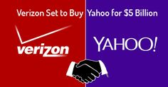 Verizon Set to Buy Yahoo for $5 Billion — Here's Why a Telecom is so Interested! #esflabsltd #securityawareness #cybersecurity