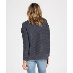 BILLABONG SWEATERS SUNFADED STITCHES PULLOVER SWEATER