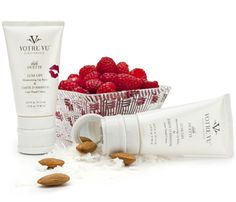 Post-Workout Pick Me Ups | Get Smoothy: Gym shower soap leaving you dry? Put an end to cold weather chapping with Votre Vu Bebe Duette in Framboise, $28. Squeeze for a dollop of aloe- and oil-infused hand cream, or pop the top for a coat of UV-enriched lip balm. A total two-in-one.