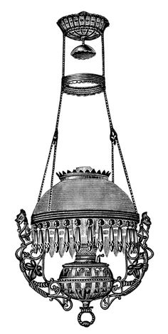 victorian hanging lamp - Google Search