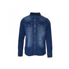 BLUE-1 Denim, Jackets, Blue, Clothes, Fashion, Down Jackets, Outfits, Moda, Clothing