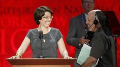 PHOTO: AP, The House Republican Conference Vice Chair, Rep. Cathy McMorris Rodgers (R-WA), checks out the stage at the Republican National Convention. #GOP