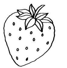 Resultado de imagem para desenho de morango