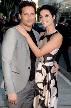 Split: Jaimie Alexander has split from her Twilight star fiance Peter Facinelli due to conflicting schedules