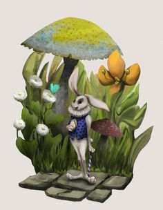 White Rabbit :) for the Character Design Challenge.