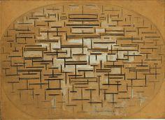 Piet Mondrian, Ocean 5, 1914