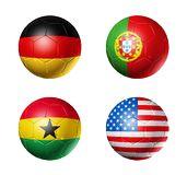 Grupo G del mundial de fútbol: ALEMANIA - PORTUGAL - GHANA - EEUU