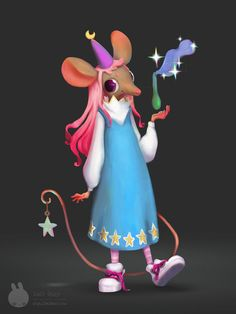 Little witch , Angi Pauly Llobet on ArtStation at https://www.artstation.com/artwork/8BYn