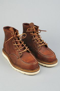 Red Wing Classic Moc Toe Boots $250
