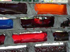 installation mur de briques en Jello
