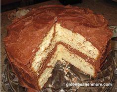 Yellow Cake, Easy Homemade Cake Recipes