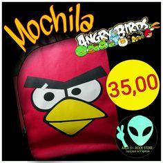 Veja nosso novo produto Mochila Angry Birds! Se gostar, pode nos ajudar pinando-o em algum de seus painéis :)