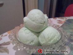 Παγωτό πεπόνι - γιαούρτι #sintagespareas