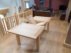 Tallinn EU Made Extending Oak Dining Table Oak Dining Table, Winter Sale, Outdoor Furniture, Outdoor Decor, Kitchen, Home Decor, Cooking, Decoration Home, Room Decor