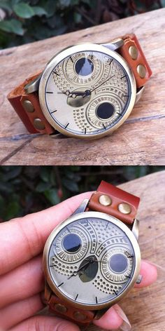 Retro Owl Rivet Leather Watch for big sale ! #owl #cute #leather #watch