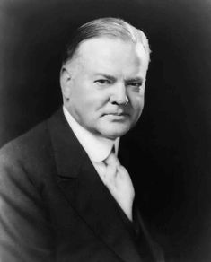 A portrait of #President Herbert Hoover (1874–1964) 31st President of the United States (March 4, 1929 through March 4, 1933) Republican  #PresidentsOfUSA